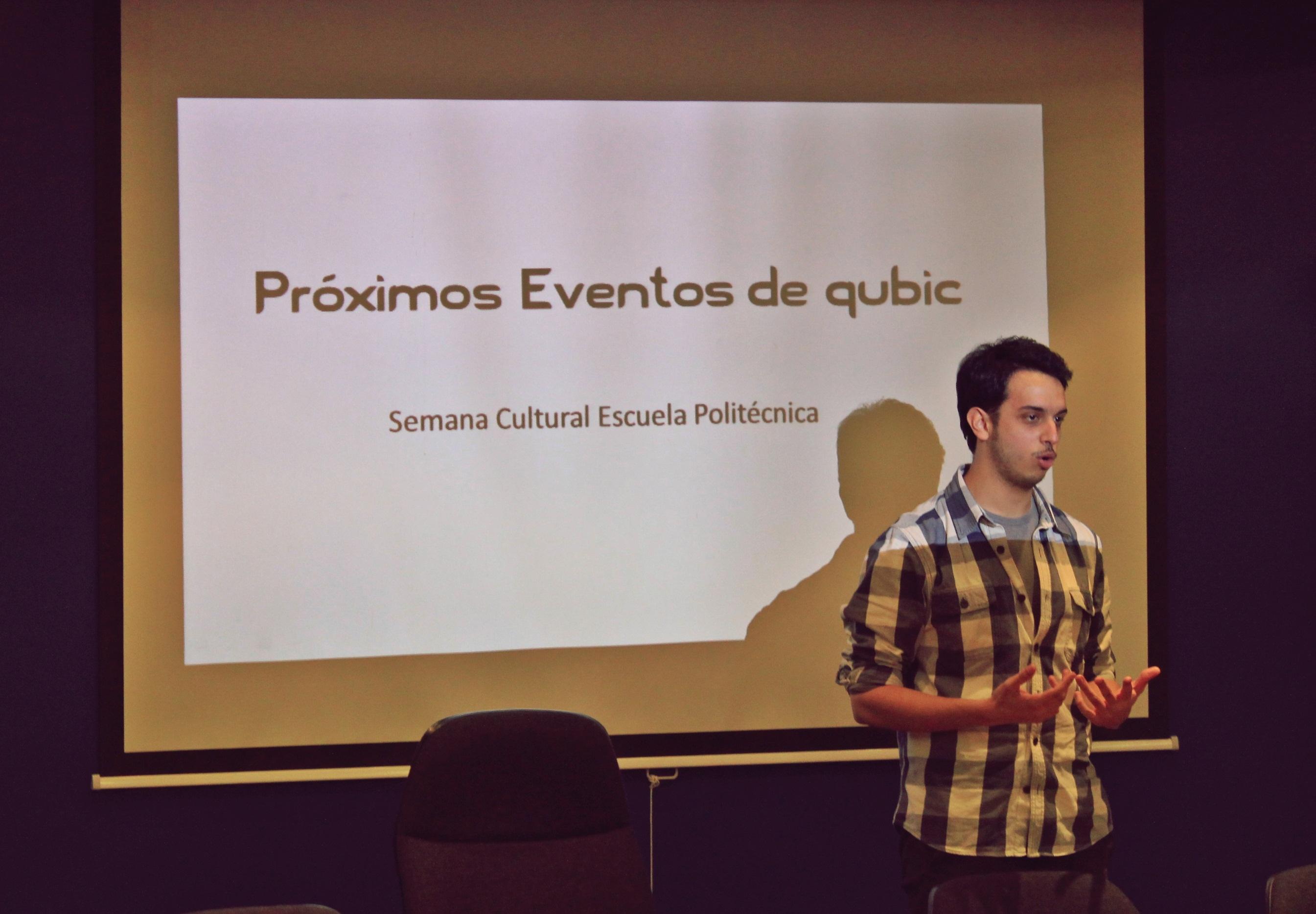 David habla sobre las actividades en la semana cultural